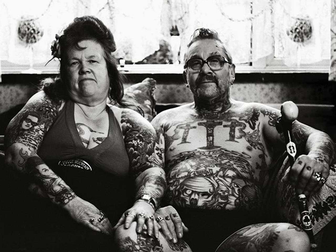 Tattoos im alter sind cool